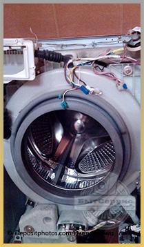 Замена подшипников и сальника стиральной машины